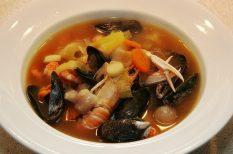bouillabaisse, francia, hallé, halleves, kagyló, rák