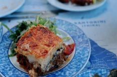 darált hús, görög konyha, muszaka, padlizsán