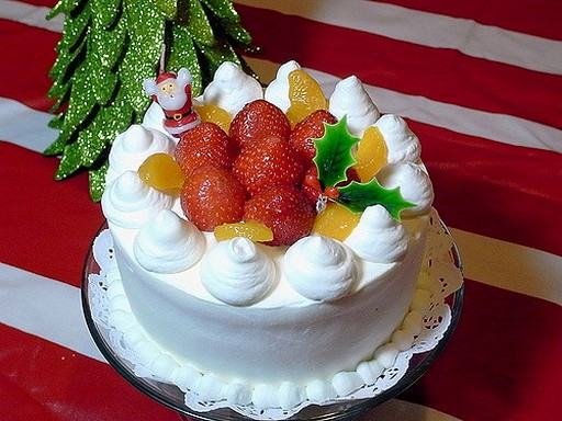 Japán karácsonyi süti, Kép: Japánspecialista