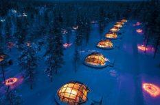 élmény, hotel, jég, szálláshelyek, tél