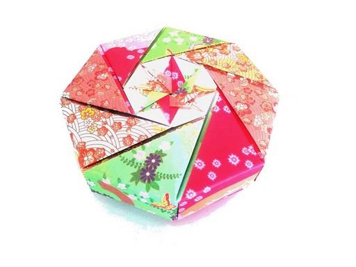 Origami ajándékdoboz, Kép: Japánspecialista