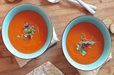 gyors leves, leves, paradicsom