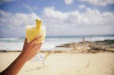 ananász, koktél, Pina Colada, rum, trópusi