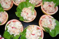 grapefuit, lazac, majonéz, mascarpone, ünnepi étel, zellerszár