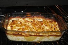 köret, krumpli, tejszín bacon, vacsora