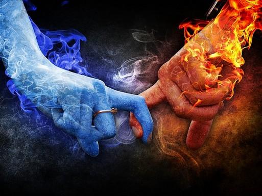 Szerelmi tűz és jég, Kép: pixabay