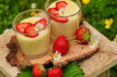 puding, tej, tojás, vanília