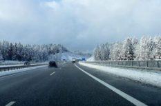 autó, fékek, gumiabroncs, időjárás, tél, világítás