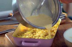 csirke, sajtos csirke, tejszín