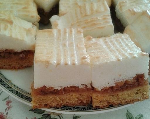 Almás-habos sütemény, Kép: Fajcsák Sándorné