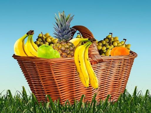 Gyümölcsöskosár, Kép: pixabay