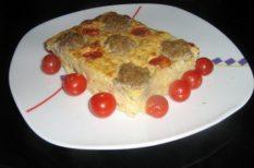 burgonya, gyors recept, húsgolyó, köret