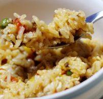 cajun, csirke, jambalaya, kolbász, rizs
