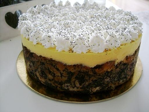 Mákos guba torta, Kép: Czakó Mariann