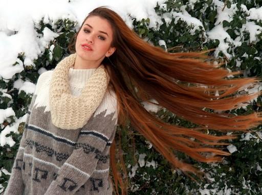 Nő télen, Kép: pixabay