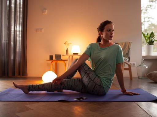Relaxáció megfelelő fények mellett, Kép: sajtóanyag