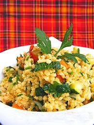 Sült zöldségek kölessel, Kép: ahogyeszikugypuffad.blogspot.com