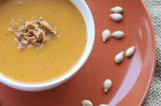 leves, olvasói recept, sütőtök