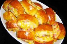 bacon, borkorcsolya, hajtovány, kukorica, sonka, sörkorcsolya
