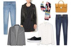 cipő, divat, farmer, gardrób, stylist tippek, táska