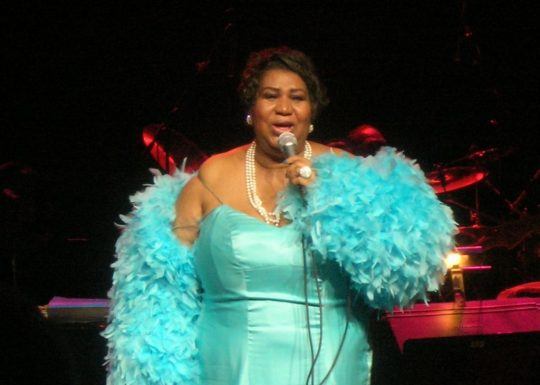 Aretha Franklin 2007-ben Dallasban Kép: wikipedia
