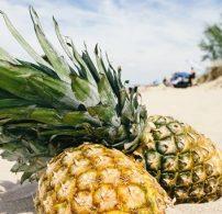 ananász, hámozás, pucolás, tisztítás
