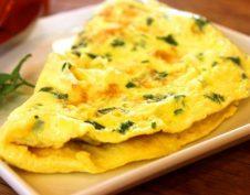 chili, GI-diéta, omlett, reggeli, sajt, szénhidrátmentes, vacsora