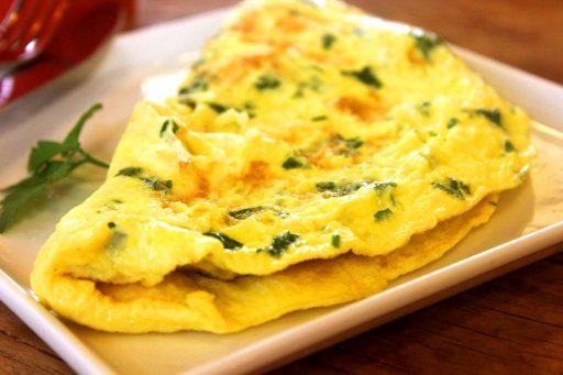 Chilis, sajtos omlett, Kép: pixabay.com
