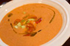 leves, paprika, paradicsom, spanyol, uborka