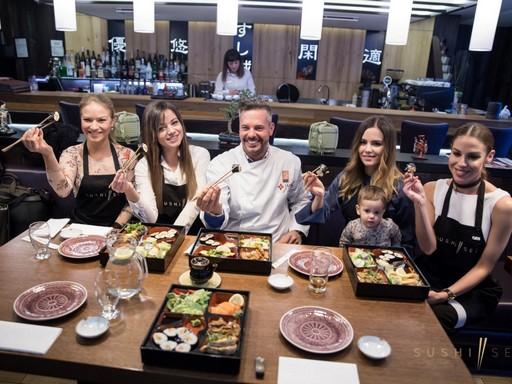 Kész az autentikus japán vacsora, Kép: sajtóanyag