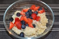 kása, quinoa, reggeli