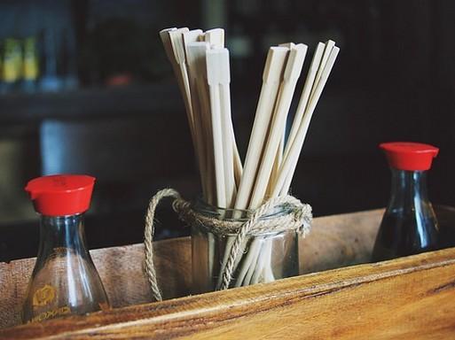 Szójaszósz és pálcikák, Kép: pixabay