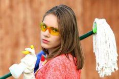 család, házimunka, munkamegosztás, otthon, sport, szabadidő, takarítás