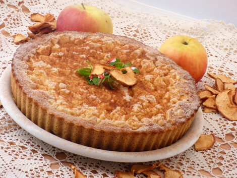 Almás pite gluténmentesen, Kép: bulkshop.hu