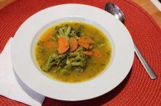 brokkoli, fokhagyma, leves, póréhagyma, sárgarépa