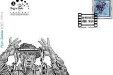 100 év, alkalmi bélyeg, Fábri Zoltán, festő, filmrendező, színész