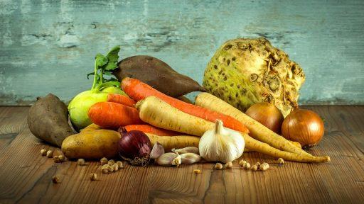 Gyökérzöldségek, Kép: pixabay.com