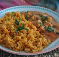 indiai ízek, római kömény, tejszín, vajas csirke