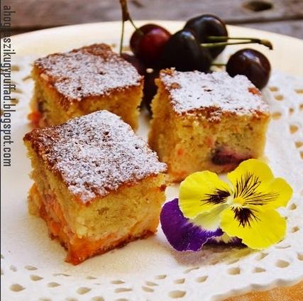 Kevert sütemény, Kép: ahogyeszikugypuffad.blogspot.com