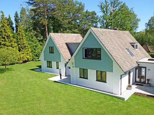 Modern házak, Kép: pixabay