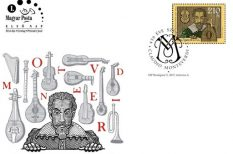 bélyeg, Claudio Monteverdi, kisív, opera, zeneszerző