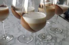 olasz, panna cotta, tejszín