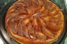alma, fordított, torta