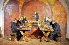 apátság, balaton, böjt, gasztronómia, kiállítás, szerzetesek, tihany