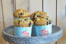 áfonya, egyszerű, muffin