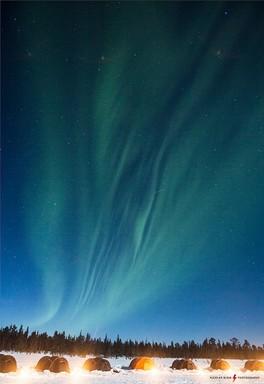 Északi-sark északi fénnyel, Kép: sajtóanyag