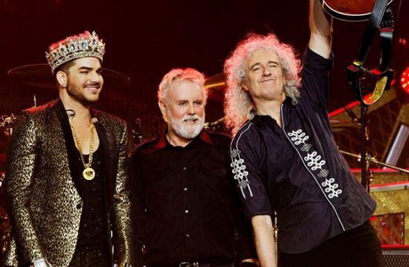 Adam Lamberttel  Kép: Queen facebook oldala