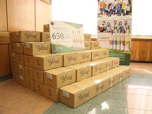 650 bor az orvosi karnak, Campus borcsalád, Kép: sajtóanyag