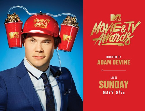 Adam Devine, Kép: MTV Movie & TV Awards