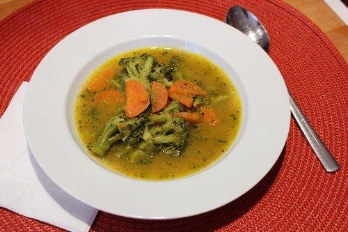 Brokkoli-sárgarépa leves, Kép: husimado-eger.blog.hu